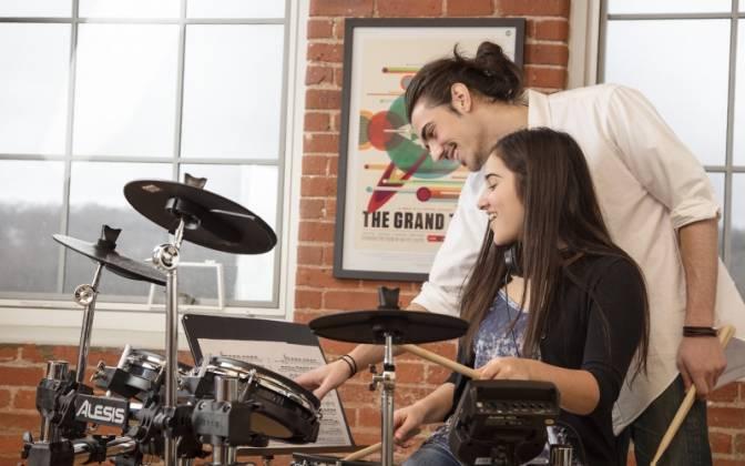 Alesis Surge Mesh Kit 8 piece Electronic Drum Set with Mesh Heads surge-mesh-kit-xus Product Image 5