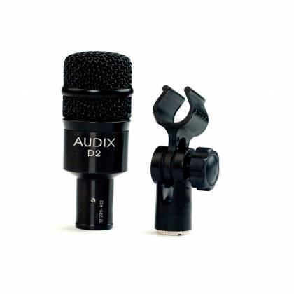 Audix D2   Drum Mic Kit with mic and clip Product Image