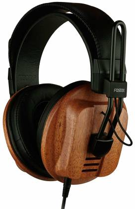Fostex T60RP Stereo Headphones with African Mahogany Earcups and comfortable padding t-60-rp Product Image 7