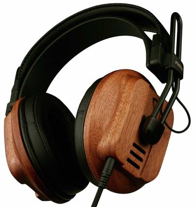 Fostex T60RP Stereo Headphones with African Mahogany Earcups and comfortable padding t-60-rp Product Image 5