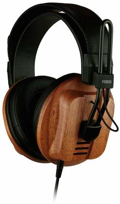 Fostex T60RP Stereo Headphones with African Mahogany Earcups and comfortable padding t-60-rp Product Image 2