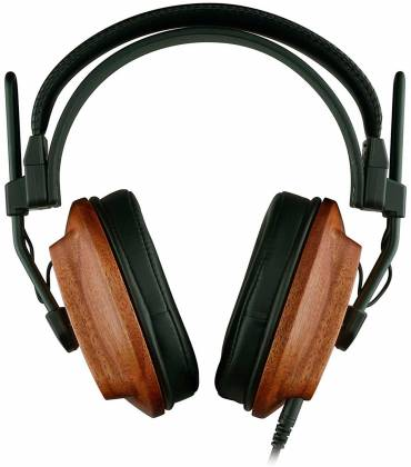 Fostex T60RP Stereo Headphones with African Mahogany Earcups and comfortable padding t-60-rp Product Image 3