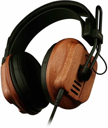 Fostex T60RP Stereo Headphones with African Mahogany Earcups and comfortable padding t-60-rp Product Image