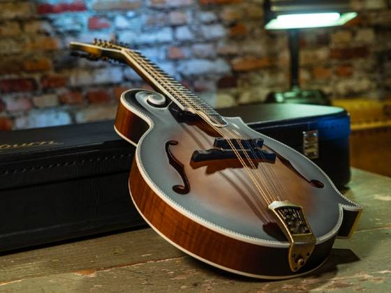 Washburn M118SWK-D Americana Series F-style Vintage Mandolin with a Hard Case m-118-swk-d Product Image 6