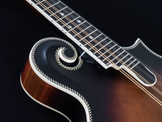 Washburn M118SWK-D Americana Series F-style Vintage Mandolin with a Hard Case m-118-swk-d Product Image 3