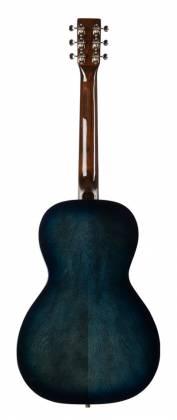 Art & Lutherie 047703-d2019 Roadhouse Q-Discrete Parlor 6 String RH Acoustic/Electric Guitar – Indigo Burst with Bag Product Image 10