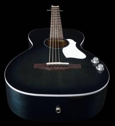 Art & Lutherie 047703-d2019 Roadhouse Q-Discrete Parlor 6 String RH Acoustic/Electric Guitar – Indigo Burst with Bag Product Image 8