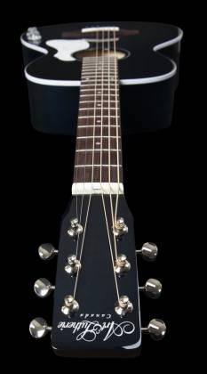 Art & Lutherie 047703-d2019 Roadhouse Q-Discrete Parlor 6 String RH Acoustic/Electric Guitar – Indigo Burst with Bag Product Image 5