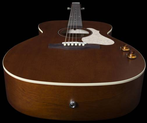 Art & Lutherie 047710 Legacy Q-Discrete 6 String RH Acoustic/Electric Guitar – Havana Brown 047710 Product Image 4