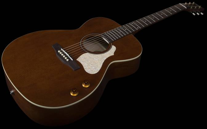 Art & Lutherie 047710 Legacy Q-Discrete 6 String RH Acoustic/Electric Guitar – Havana Brown 047710 Product Image 2