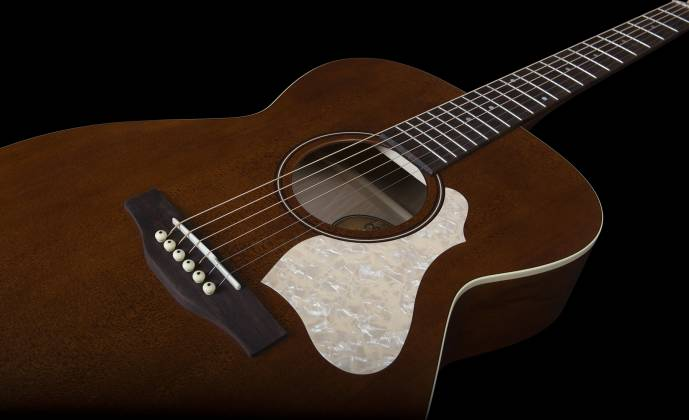 Art & Lutherie 047710 Legacy Q-Discrete 6 String RH Acoustic/Electric Guitar – Havana Brown 047710 Product Image 10