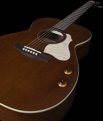 Art & Lutherie 047710 Legacy Q-Discrete 6 String RH Acoustic/Electric Guitar – Havana Brown 047710 Product Image 9