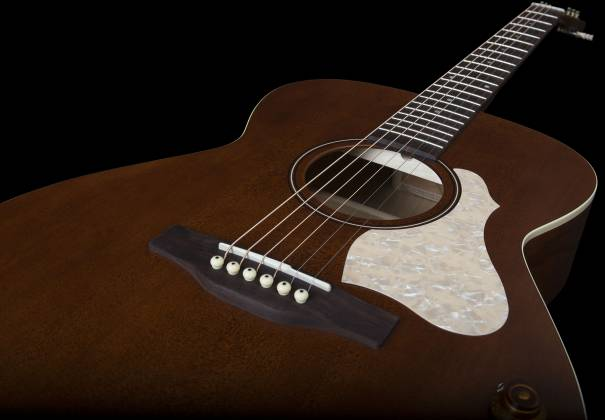 Art & Lutherie 047710 Legacy Q-Discrete 6 String RH Acoustic/Electric Guitar – Havana Brown 047710 Product Image 8