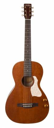 Art & Lutherie 047727-d2019 Roadhouse Q-Discrete Parlor 6 String RH Acoustic/Electric Guitar – Havana Brown with Bag Product Image 12