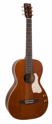 Art & Lutherie 047727-d2019 Roadhouse Q-Discrete Parlor 6 String RH Acoustic/Electric Guitar – Havana Brown with Bag Product Image 11