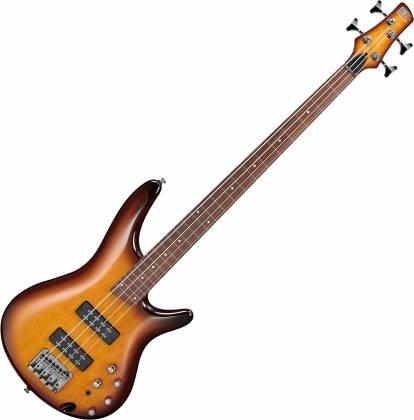 Ibanez SR370EFBBT 4-String RH Fretless Electric Bass - Brown Burst sr-370-ef-bbt Product Image