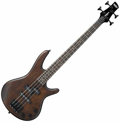 Ibanez GSRM20BWNF GIO Mikro 4 String RH Electric Bass-Walnut Flat gsrm-20-b-wnf Product Image 7