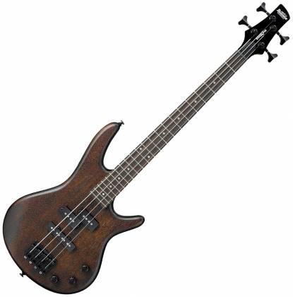 Ibanez GSRM20BWNF GIO Mikro 4 String RH Electric Bass-Walnut Flat gsrm-20-b-wnf Product Image