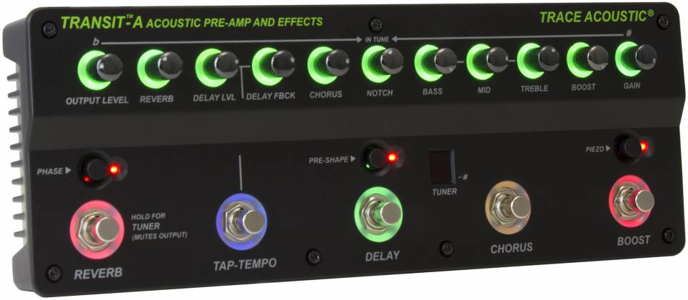 Trace Elliot Transit A Acoustic Preamp Pedal 03616150 Product Image 7