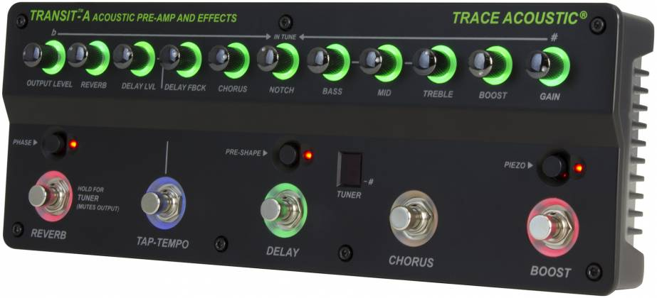 Trace Elliot Transit A Acoustic Preamp Pedal 03616150 Product Image 6