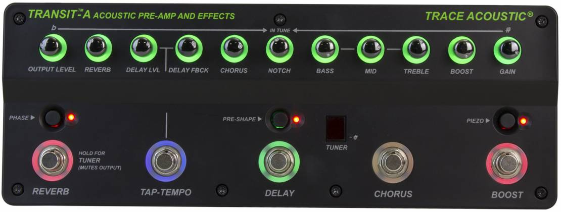 Trace Elliot Transit A Acoustic Preamp Pedal 03616150 Product Image 4