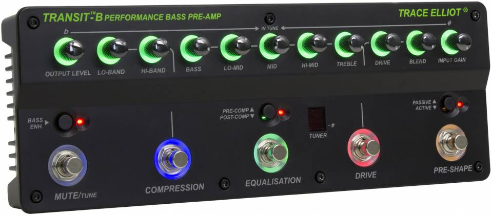 Trace Elliot Transit B Bass Preamp Pedal 03615880 Product Image 7