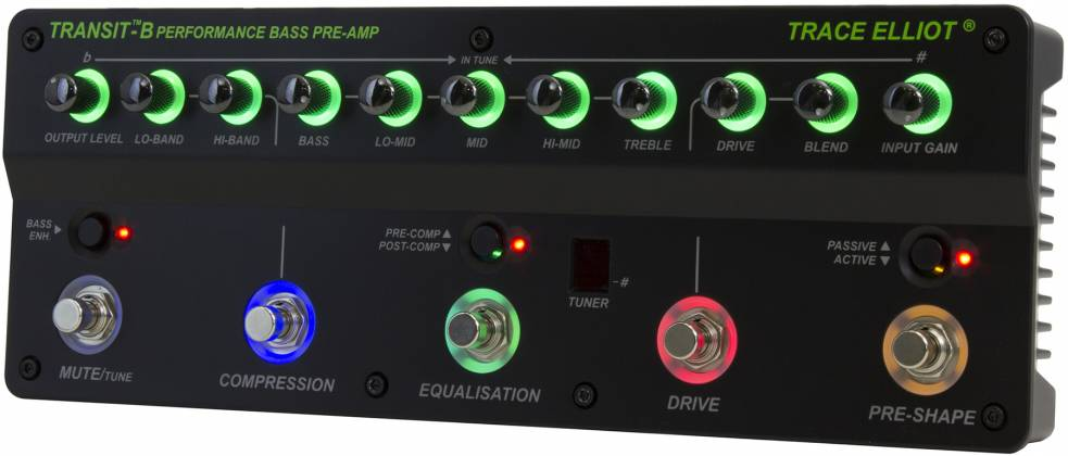 Trace Elliot Transit B Bass Preamp Pedal 03615880 Product Image 6