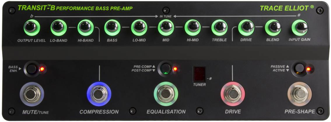 Trace Elliot Transit B Bass Preamp Pedal 03615880 Product Image 5