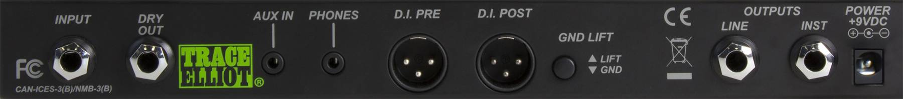 Trace Elliot Transit B Bass Preamp Pedal 03615880 Product Image 3