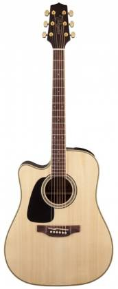 Takamine GD51CELH-NAT G-Series 6-String LH Dreadnought Acoustic Electric Guitar-Natural Product Image 6