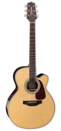 Takamine GN90CE-ZC G-Series NEX 6-String RH Acoustic Electric Guitar-Gloss Natural Product Image 9