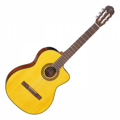 Takamine GC3-CE NAT G-Series Classical 6-String RH Acoustic Electric Guitar-Natural Product Image