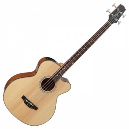 Takamine GB30CE-NAT G-Series Jumbo 4-String RH Acoustic-Electric Bass Guitar-Natural Product Image