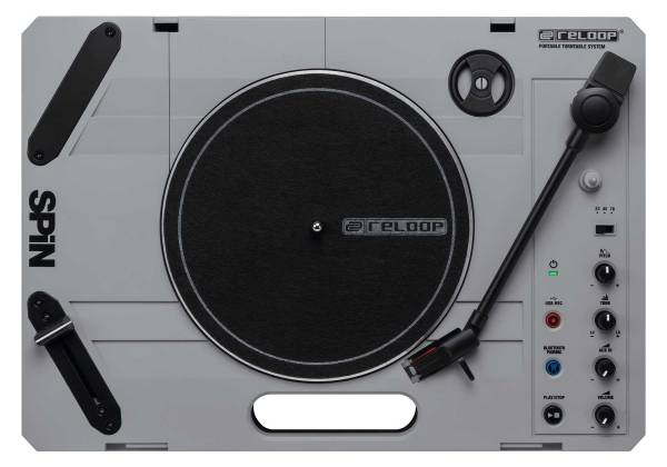 """Reloop SPIN Portable Turntable with 7"""" Scratch Vinyl, Slipmat and More Product Image 14"""