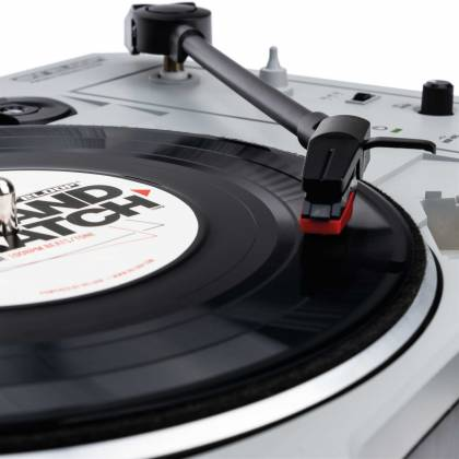 """Reloop SPIN Portable Turntable with 7"""" Scratch Vinyl, Slipmat and More Product Image 3"""