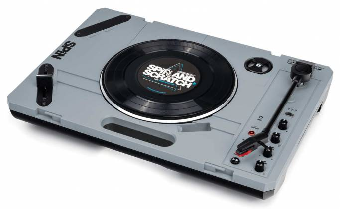 """Reloop SPIN Portable Turntable with 7"""" Scratch Vinyl, Slipmat and More Product Image 13"""