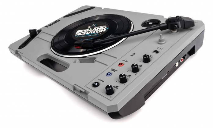"""Reloop SPIN Portable Turntable with 7"""" Scratch Vinyl, Slipmat and More Product Image 8"""