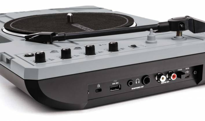 """Reloop SPIN Portable Turntable with 7"""" Scratch Vinyl, Slipmat and More Product Image 6"""