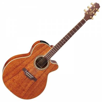 Takamine EF508-KC Legacy Series 6 String RH NEX Koa Acoustic Electric Guitar with Hard Case-Gloss Natural Product Image