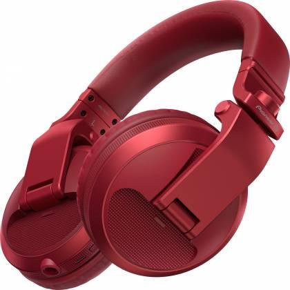 Pioneer DJ HDJ-X5BT-R Over-ear DJ headphones with Bluetooth-Metallic Red hdj-x-5-bt-r Product Image