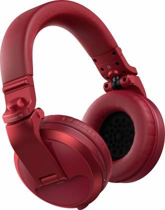 Pioneer DJ HDJ-X5BT-R Over-ear DJ headphones with Bluetooth-Metallic Red hdj-x-5-bt-r Product Image 7