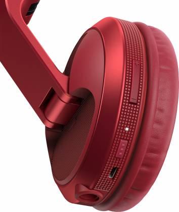 Pioneer DJ HDJ-X5BT-R Over-ear DJ headphones with Bluetooth-Metallic Red hdj-x-5-bt-r Product Image 6