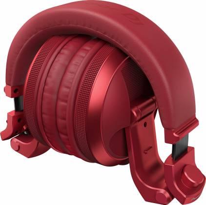 Pioneer DJ HDJ-X5BT-R Over-ear DJ headphones with Bluetooth-Metallic Red hdj-x-5-bt-r Product Image 5