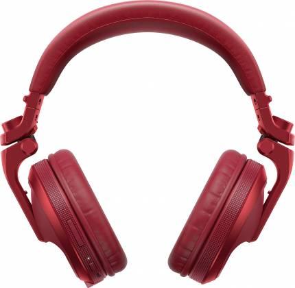 Pioneer DJ HDJ-X5BT-R Over-ear DJ headphones with Bluetooth-Metallic Red hdj-x-5-bt-r Product Image 4