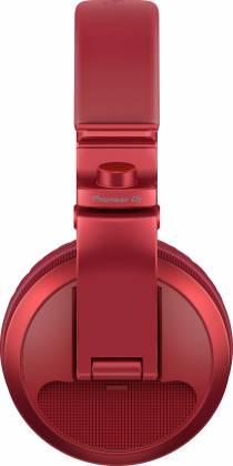 Pioneer DJ HDJ-X5BT-R Over-ear DJ headphones with Bluetooth-Metallic Red hdj-x-5-bt-r Product Image 3
