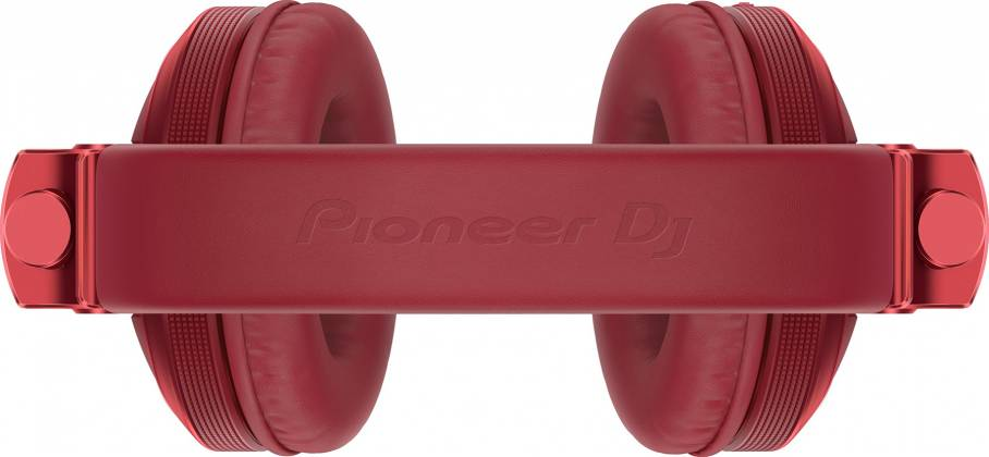 Pioneer DJ HDJ-X5BT-R Over-ear DJ headphones with Bluetooth-Metallic Red hdj-x-5-bt-r Product Image 2