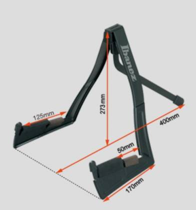 Ibanez ST101 Folding Stand for Electric Guitar or Bass Product Image 3