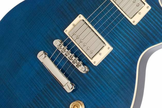 Epiphone ELPT6PMSNH Les Paul Standard 1960 Tribute 6-String RH Electric Guitar-Midnight Sapphire elp-t-6-pm-snh Product Image 3