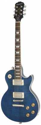 Epiphone ELPT6PMSNH Les Paul Standard 1960 Tribute 6-String RH Electric Guitar-Midnight Sapphire elp-t-6-pm-snh Product Image 2