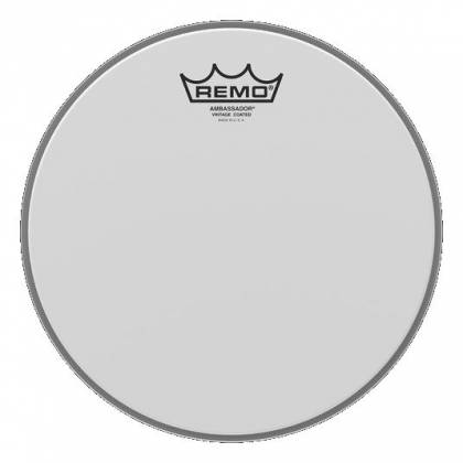 remo va0110 00 vintage ambassador coated 10 drumhead drums skins and replacement heads. Black Bedroom Furniture Sets. Home Design Ideas